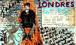 Régine à Londres