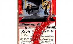 Martha et Jérôme au théâtre de Dix heures