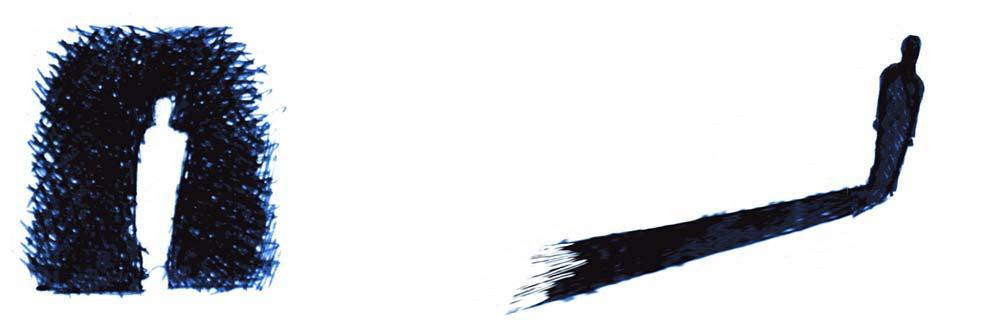 De la lumière à l'ombre, articulation et point de retournement