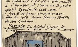 Hervé le Beau au Passage du Nord Ouest