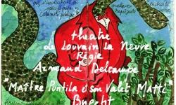 Armand Delcampe à Louvain la Neuve