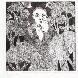 Traversée de l'obscure inconnu 1/10 n°2 format 33x25cm