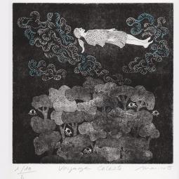 Voyage Céleste 1/10 n°2 format 33x25cm